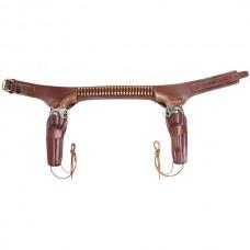 Conquistador Double Drop Holster Belt