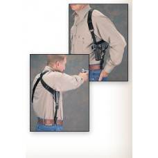 Uncle Mike's Cross-Harness Horizontal Shoulder Holster