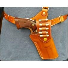 Crossdraw Shoulder Rig w/Bullet Loops