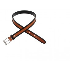 Two-Tone Double Ply Leather Belt